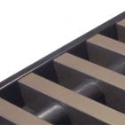 Convectorput rooster brons aluminium